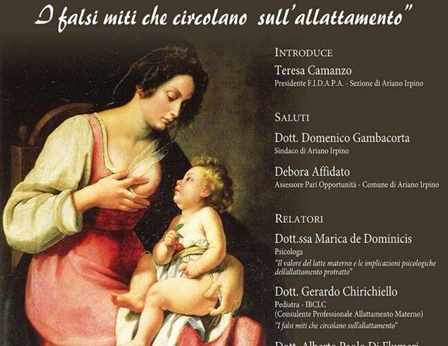 ANCORA ALLATTI? I falsi miti dell'allattamento